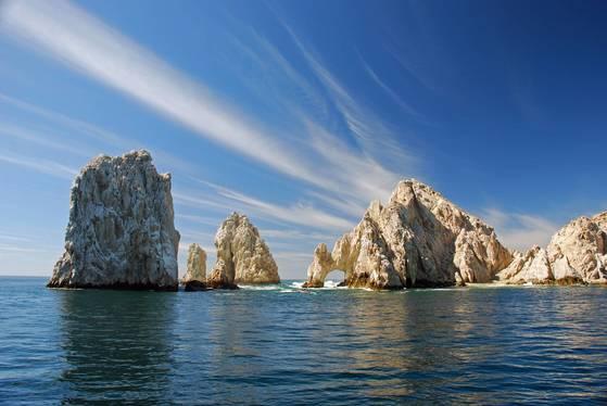 기암괴석이 많은 태평양 휴양지 로스카보스.[사진 멕시코관광청]