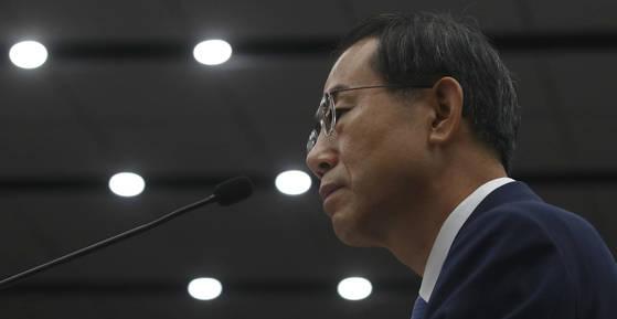 조재연 대법관 후보자는 5일 열린 국회 인사청문회에서 전관예우 문제에 대해 적극적으로 의견을 개진하겠다고 밝혔다. [연합뉴스]
