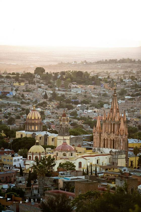 스페인풍 건물이 많이 남아 있는 도시 과나후아토. [사진 멕시코관광청]