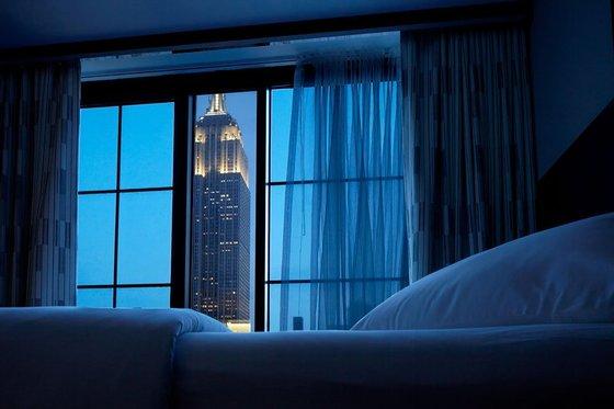 아처호텔 일부 객실에선 엠파이어 스테이트 빌딩을 볼 수 있다.[사진 호텔 홈페이지]