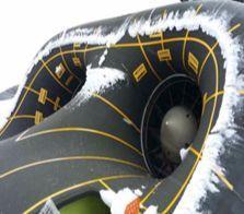 엔진 공기흡입구등에 생긴 결빙은 항공기 성능과 조종 능력을 떨어뜨리거나 엔진을 망가뜨린다. [사진 방위사업청]