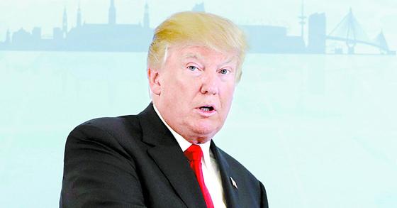 도널드 트럼프 미국 대통령. [연합뉴스]