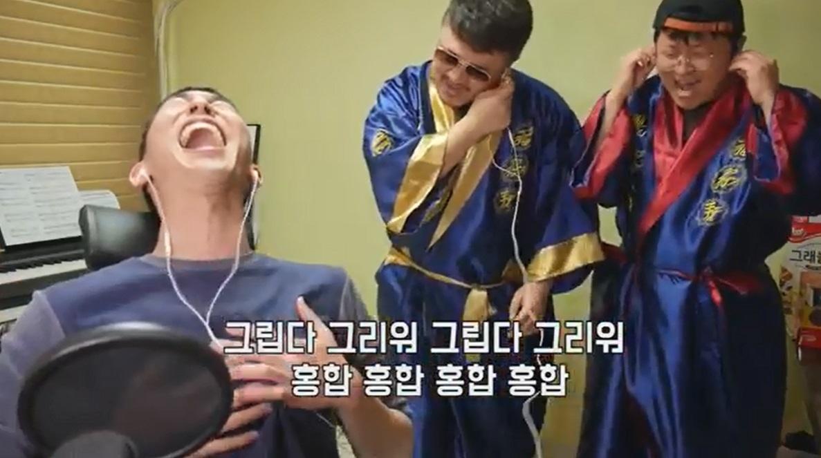 천재이승국 유튜버의 방송에 출연한 정형돈과 데프콘 [사진 유튜브]