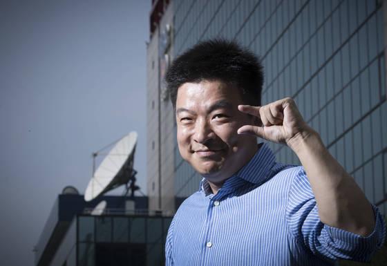 알뜰 소비를 주제로 한팟캐스트'김생민의영수증'으로 새 전성기를 맞이한 김생민.[권혁재 사진전문기자]