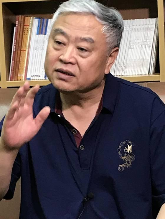 중국 학자로는 드물게 북한의 6·25 남침설을 제기해 온 선즈화 화동사범대 교수. 예영준 특파원
