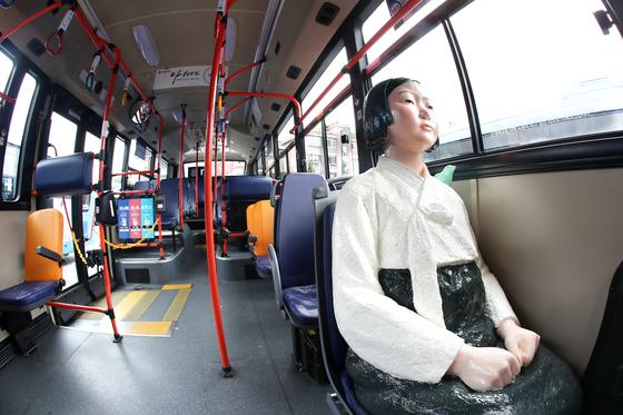 【画像】 ソウル市内バスの数路線にて車内に慰安婦像を乗せての運行を開始 【動画】 [無断転載禁止]©2ch.netYouTube動画>3本 ->画像>73枚