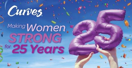 여성전용 피트니스 프랜차이즈 커브스가 탄생 25주년을 맞아 다양한 이벤트를 펼친다