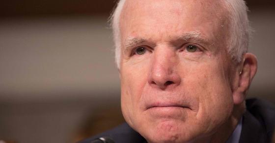 백악관 보좌관, 뇌종양 매케인에 어차피 죽을 사람