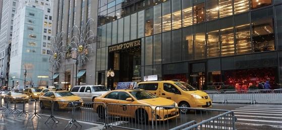뉴욕 맨해튼 5번가의 트럼프 타워. 평양에도 트럼프 타워가 들어설지 관심을 모은다.