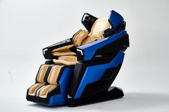 바디프랜드가 람보르기니와 협업해 만든 안마의자 LBF-750. [사진 바디프랜드]<br>