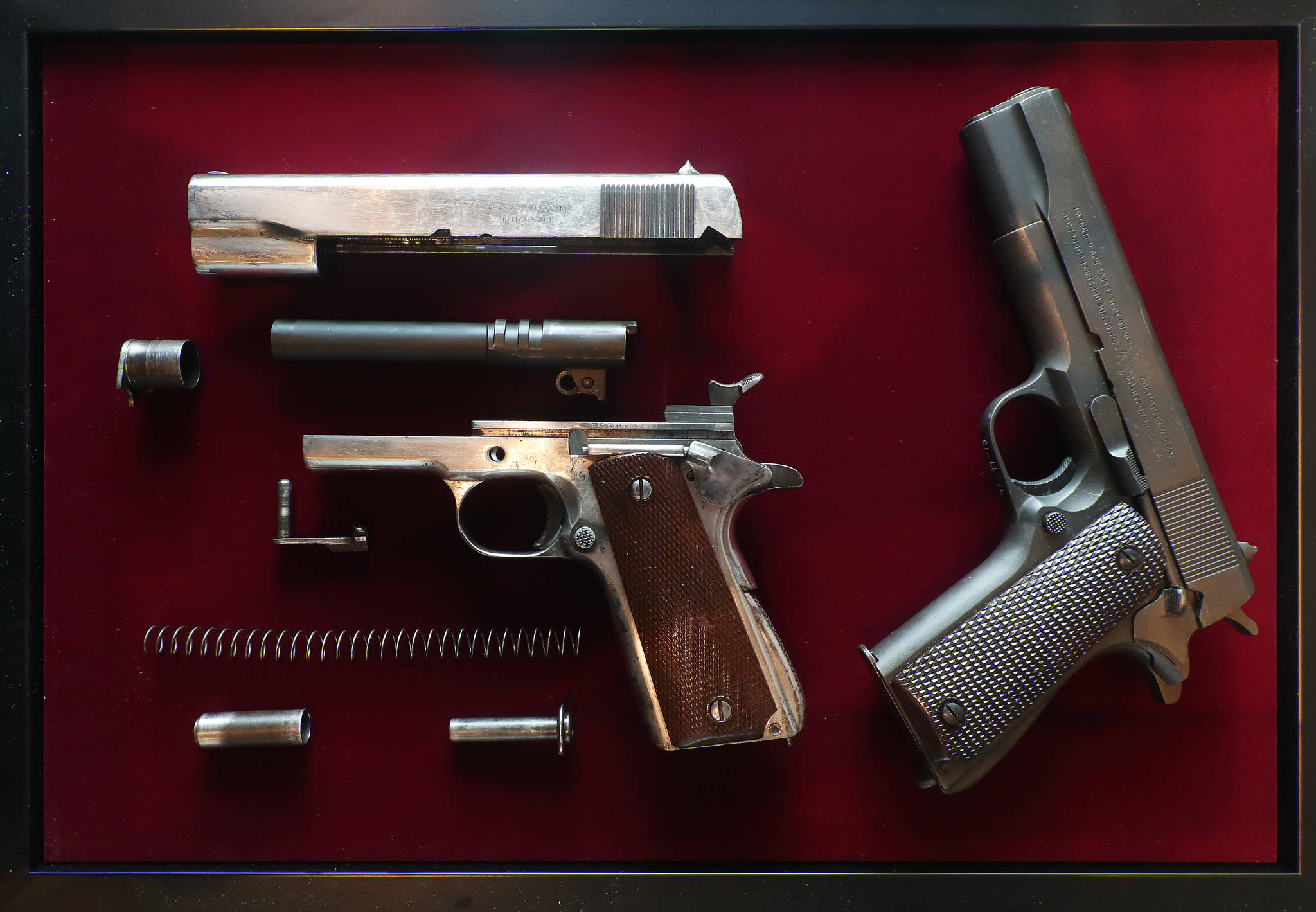 [서소문사진관]대한민국 1호 권총부터 안중근 저격총까지..콜트 1911전