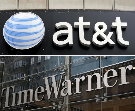 AT&T와 타임워너의 합병이 2년여만의 성사를 눈앞에 두고 있다. [EPA=연합뉴스]