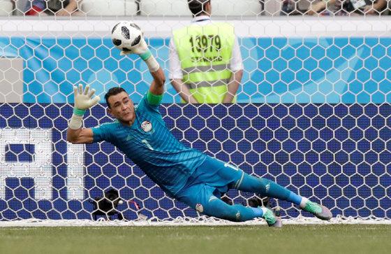 45세에 월드컵 첫 출전, 페널티킥도 막았죠