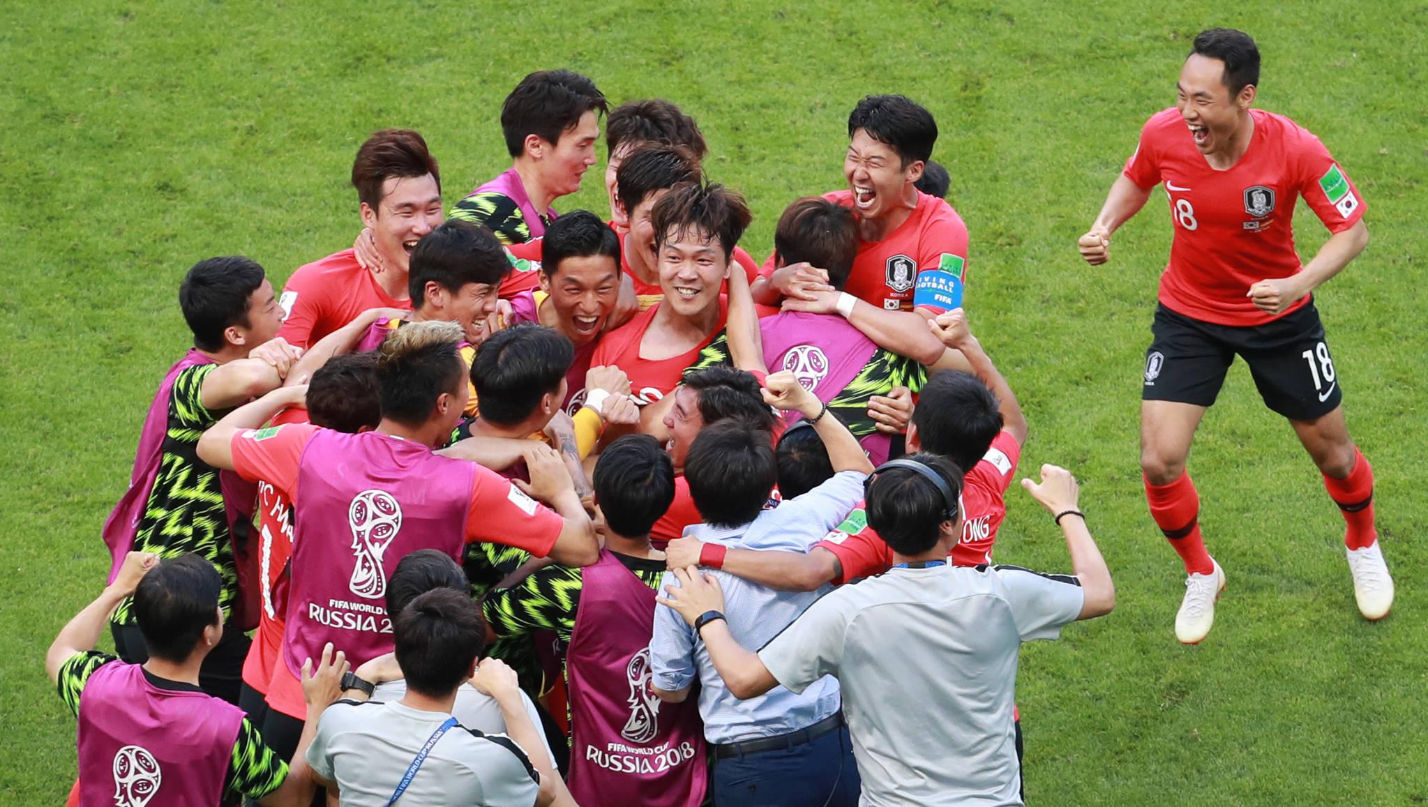 독일전 승리로 '세계 1위' 또 잡은 한국