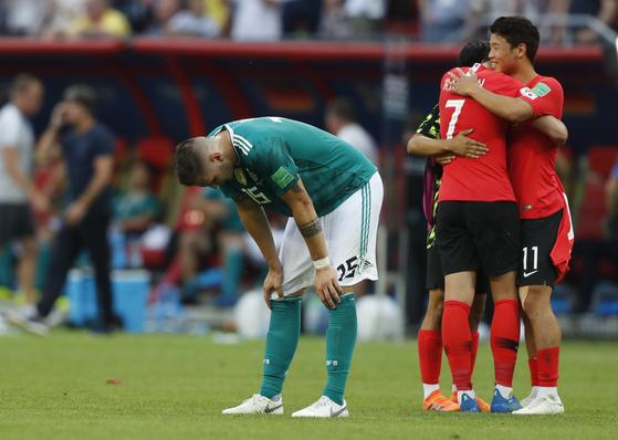 독일축구협회 한국 승리 축하한다 (공식)