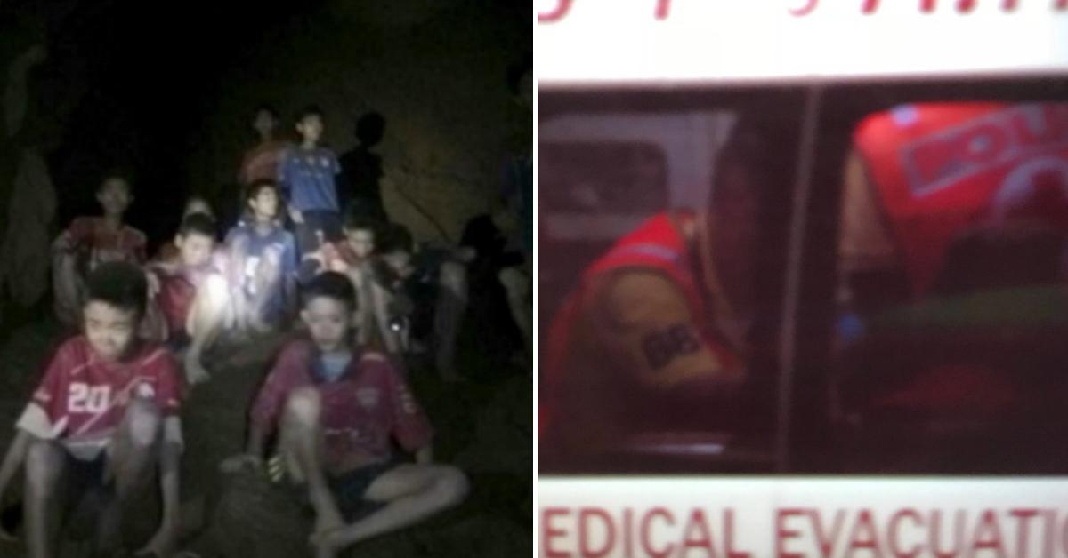 [속보] 태국 동굴소년 4명 구조돼…1명은 건강 상태 나빠
