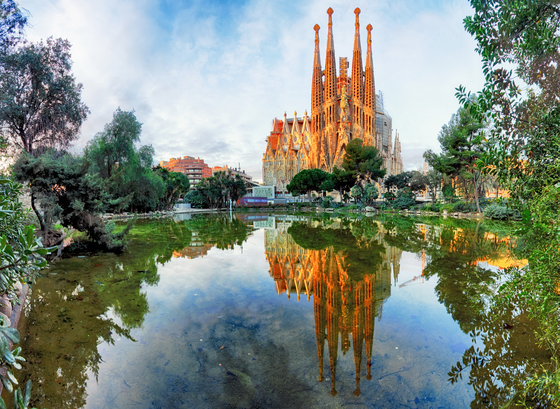 바르셀로나 랜드마크 사그라다파밀리아 성당. [사진 롯데관광]