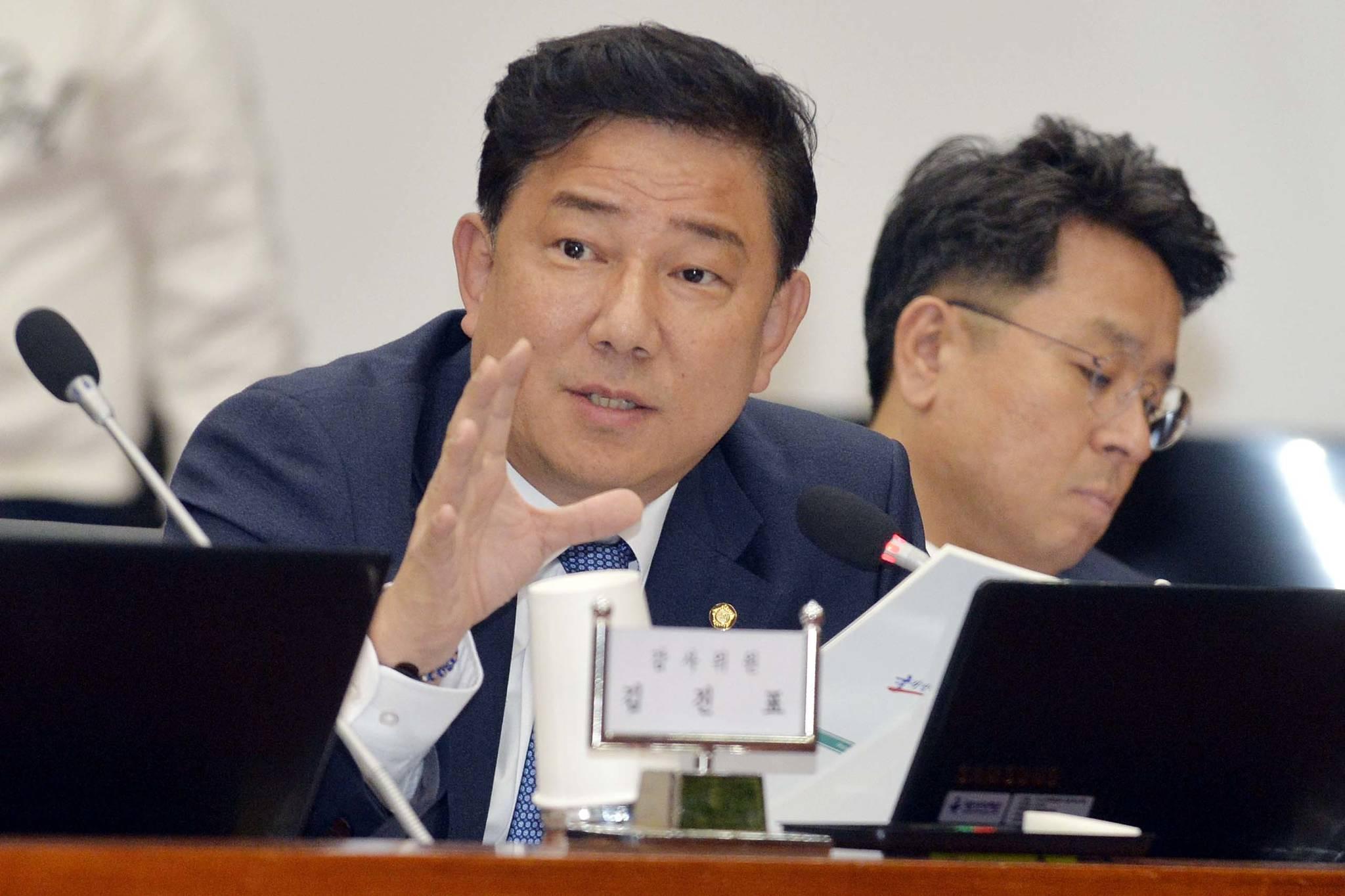 더불어민주당 김병기 의원. 김성태 기자