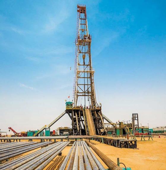 UAE육상 석유생산광구. [사진 GS그룹]