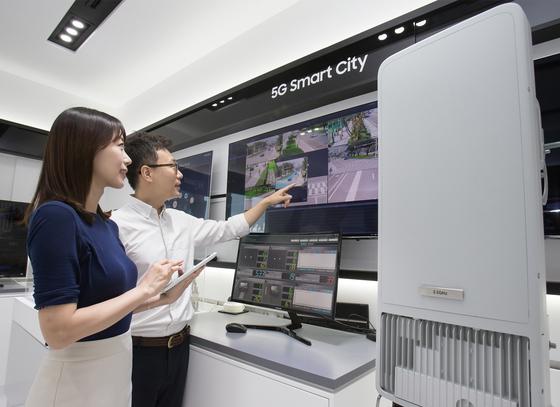 """김영기 삼성전자 사장 """"5G 장비에서 2020년 20% 점유율"""""""