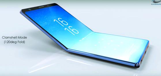 삼성, 내년초 승부수···스크린 접히는 스마트폰 출시