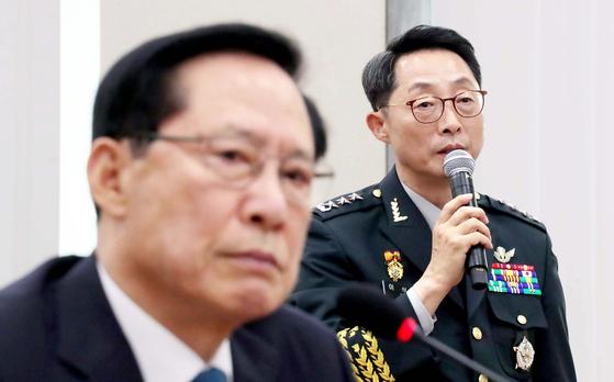 """야당 """"'계엄 문건 거짓말 논란' 송영무 장관 해임안 추진"""""""