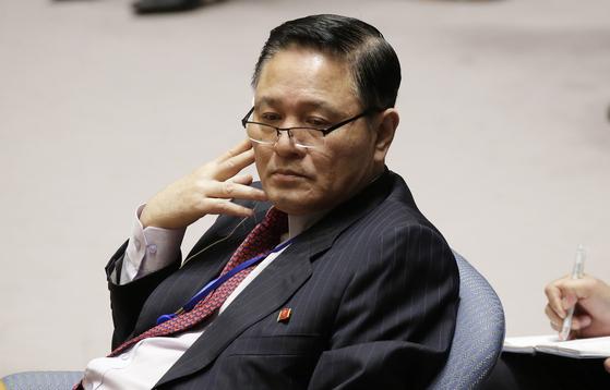 자성남 주유엔 북한대사. [연합뉴스]
