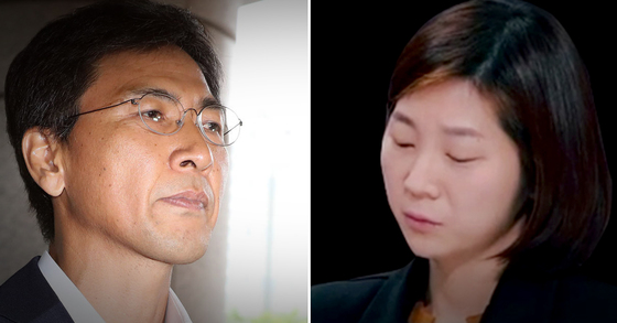 인권 어떻게 뺏나vs권력으로 성폭행 엇갈린 안희정·김지은