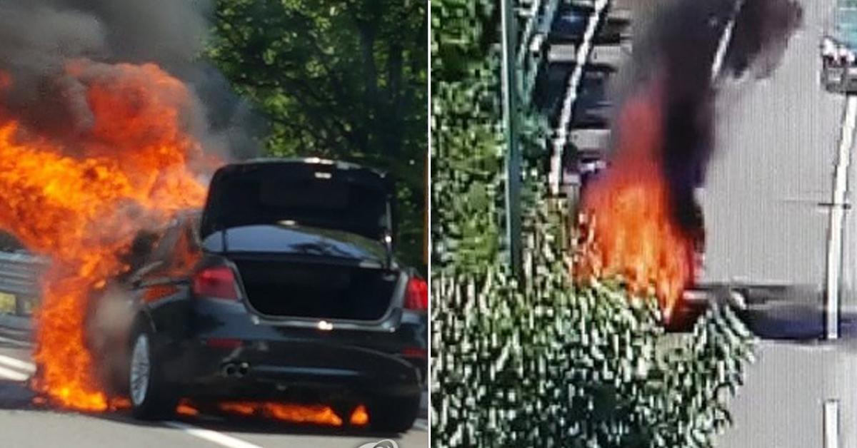 BMW 520d 또 주행 중 화재…이번엔 영동고속도로