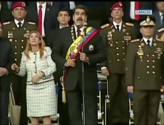 베네수엘라 대통령 드론 암살 시도  …전세계 드론 주의보 내려지나