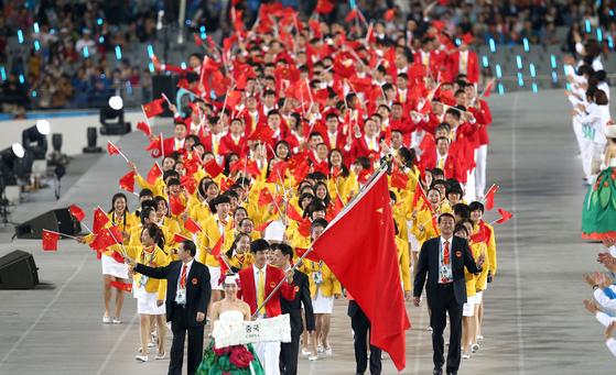 도쿄올림픽 준비 과정... 中, AG에 젊은 선수단 파견