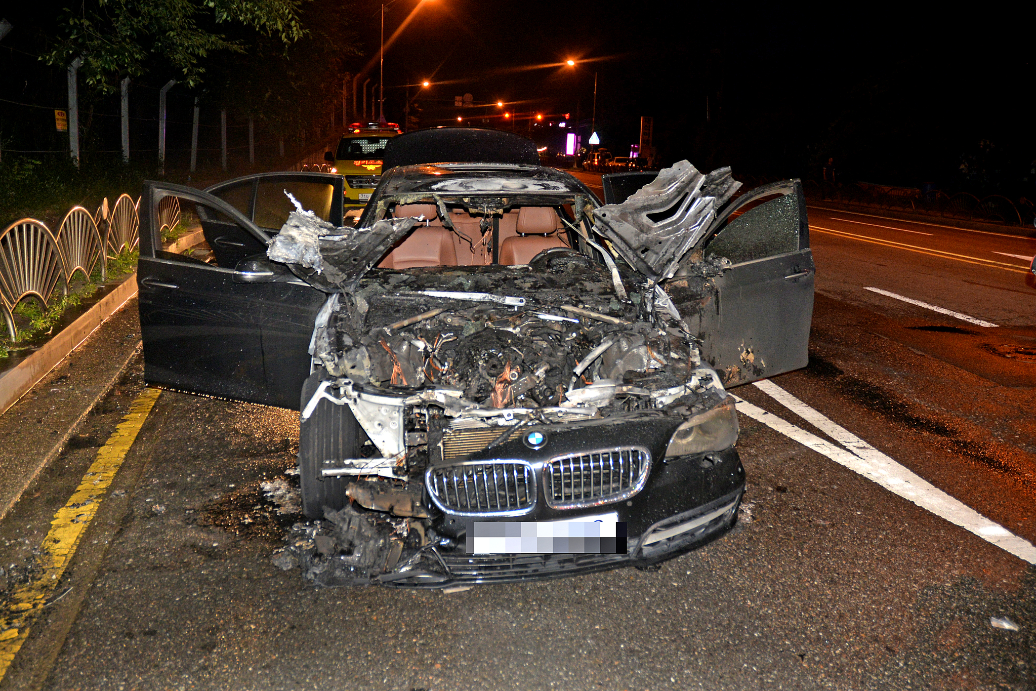 리콜 대상 BMW 자동차, 정부청사 지하주차장에 주차 금지