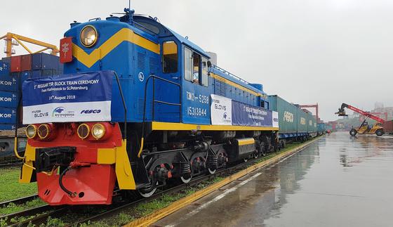 현대글로비스, 러시아 논스톱 화물열차 운영