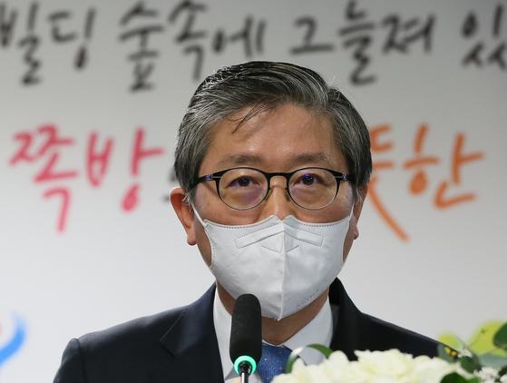 """[단독]변창흠 서울역 폭 방촌 공공 발전… """"공산당인가""""반발"""