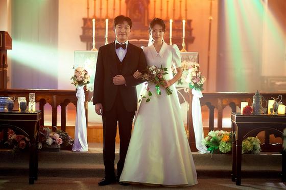 '시지프', 조승우, 박신혜 웨딩 포토?  큰 떡 던지기