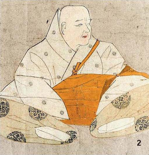 2 양위 뒤 불가에 귀의해 법황이 된 일왕 고시라카와.