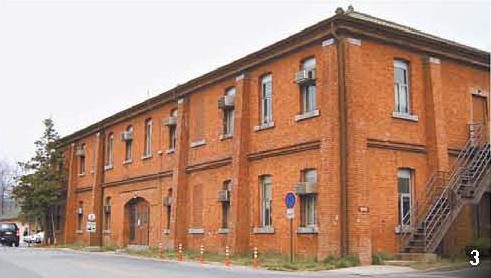 3 1908년 완공된 옛 일본군 병기고 건물. 강기헌 기자, [사진 용산구청]