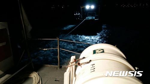 여수해상서 기관고장 어선 예인