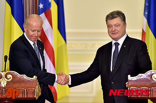 바이든 미 부통령, 15일 우크라이나 방문