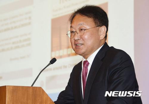 유일호 기획재정부 장관, 뉴욕 한국경제설명회