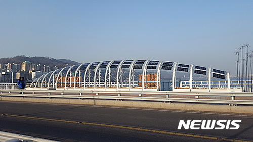 서울시, 광진교 문화공간에 태양광설비 설치