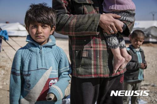 """""""시리아 어린이들, 전쟁 스트레스로 자해 시도"""" 세이브더칠드런"""