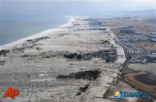 동일본대지진 침하 지반 다시 올라왔다…최대 40㎝융기