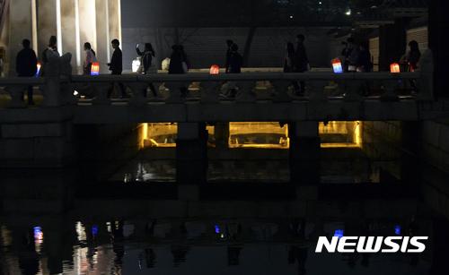 야간해설탐방 '경복궁 별빛야행'