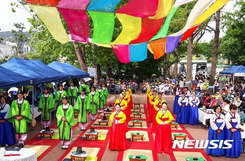 광진구, 어린이대공원서 전통성년례