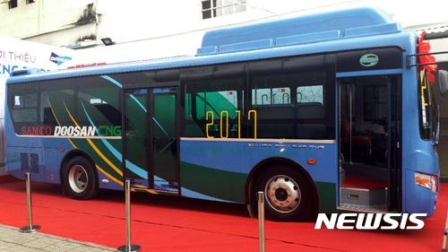 두산인프라코어, 베트남 버스 엔진 시장 진출