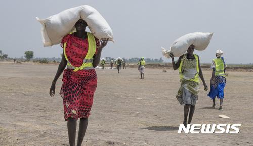 """유엔, """"배고픔에 시달리는 세계 인구 다시 8억명 넘어서"""""""
