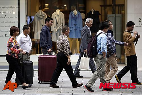2017년 일본 경제성장률 1.6%로 상향 조정···OECD