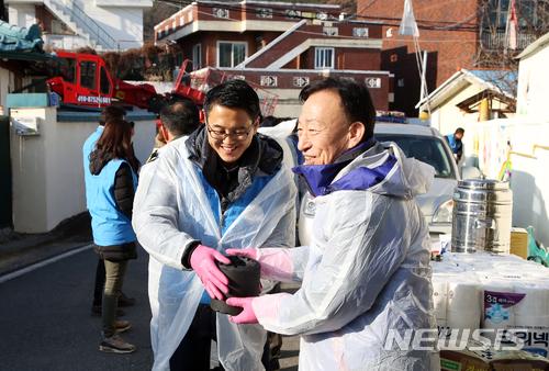 [교육소식]설동호 교육감 등 대전시교육청 봉사활동
