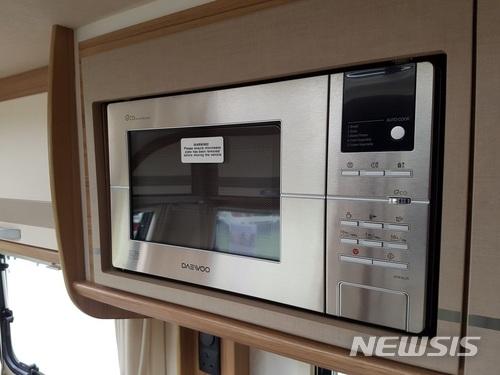 동부대우전자, 캠핑카용 전자레인지 10만대 판매